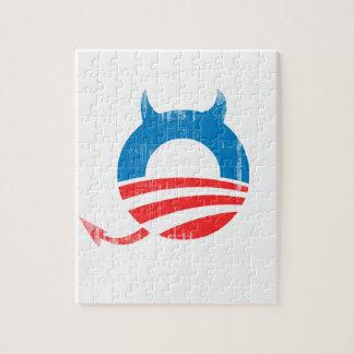 Obama Devil Jigsaw Puzzles