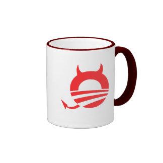 Obama devil ringer mug