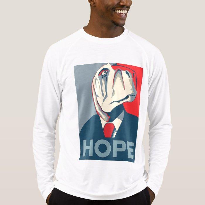 Obama Dinosaur T Rex Hope T-Shirt