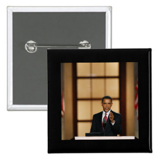 Obama-Discurso Pin Cuadrado