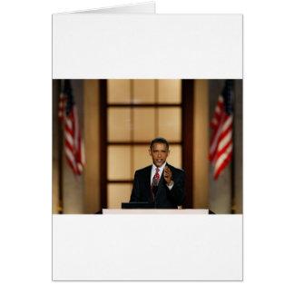 Obama-Discurso Tarjeta De Felicitación