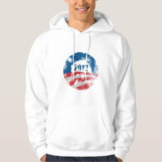Obama Distressed Symbol Hoodie