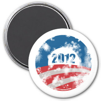 Obama Distressed Symbol Magnet