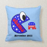 Obama divertido 2012 almohadas