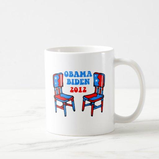 Obama divertido Biden Tazas