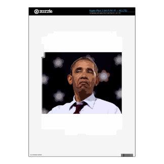 OBAMA DIVERTIDO GRANDE iPad 3 PEGATINA SKIN