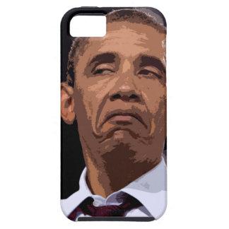 OBAMA DIVERTIDO GRANDE iPhone 5 CARCASA