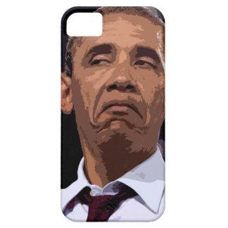 OBAMA DIVERTIDO GRANDE iPhone 5 CARCASAS