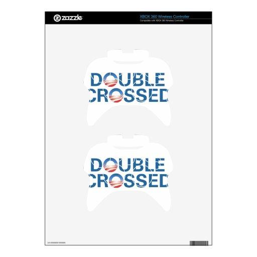 Obama Doble-Nos cruzó Mando Xbox 360 Skins