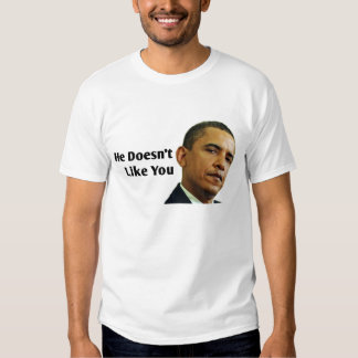 Obama Doesn't Like You Shirt