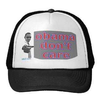 obama don't care . potus 2012 trucker hat