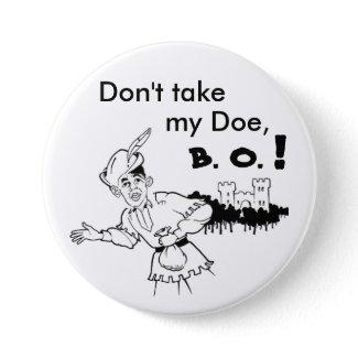 Obama don't take my doe Button button