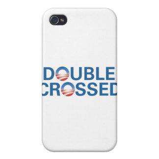 Obama Double-Crossed Us iPhone 4 Cases