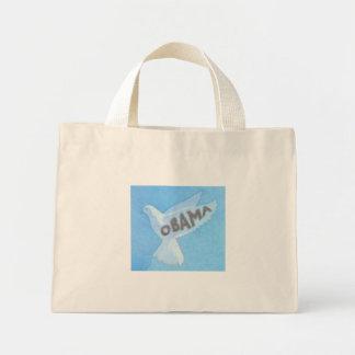 Obama Dove Floral Bag