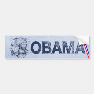 Obama, Drawing Bumper Sticker