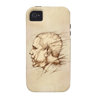 Obama, Drawing Case-Mate iPhone 4 Case