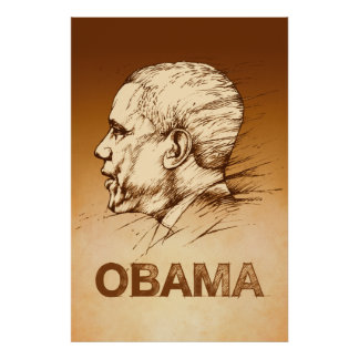 Obama Drawing Posters