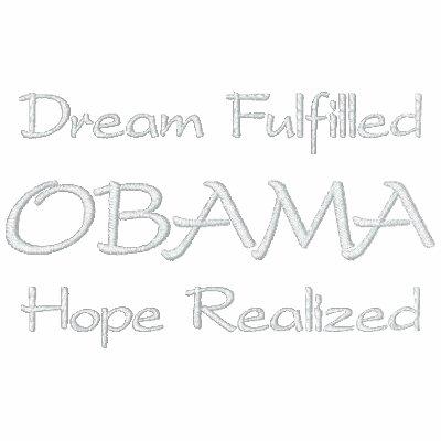 OBAMA, Dream Fulfilled, Hope Realized Polo