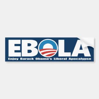 Obama Ebola Bumper Stickers