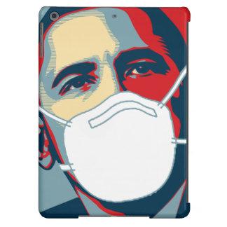 OBAMA EBOLA MASK iPad AIR COVERS