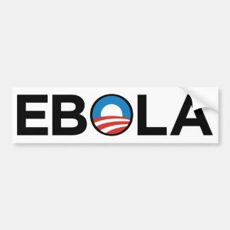 OBAMA EBOLA VIRUS EXECUTIVE ORDER BUMPER STICKER