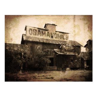 Obama Economic Socialism Postcard