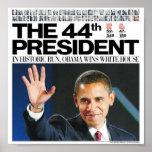 Obama: El 44.o presidente Poster