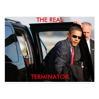 Obama - el adaptador real tarjetas postales