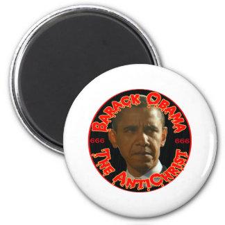 Obama el AntiChrist Imán Redondo 5 Cm