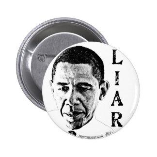 Obama el botón del mentiroso