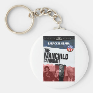 Obama: El candidato de MANCHILD Llavero Redondo Tipo Pin