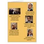 Obama el dictador felicitación