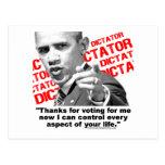 Obama el dictador postales