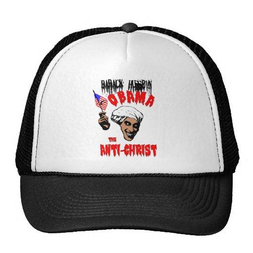Obama el gorra de Anti-Cristo