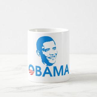 Obama el héroe taza clásica