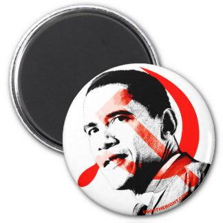 Obama - él lo va a hacer sí imán redondo 5 cm