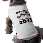 Obama el mejor vacaciones nunca 20 de enero de 201 camisetas de perrito