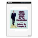 obama el Trampler Pegatinas Skins Para iPad 3