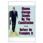 obama el Trampler Pizarras