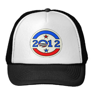 OBAMA ELECTION 2012 TRUCKER HAT
