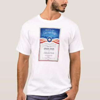 Obama Election Night Rally Ticket T-Shirt