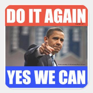 Obama Election Sticker