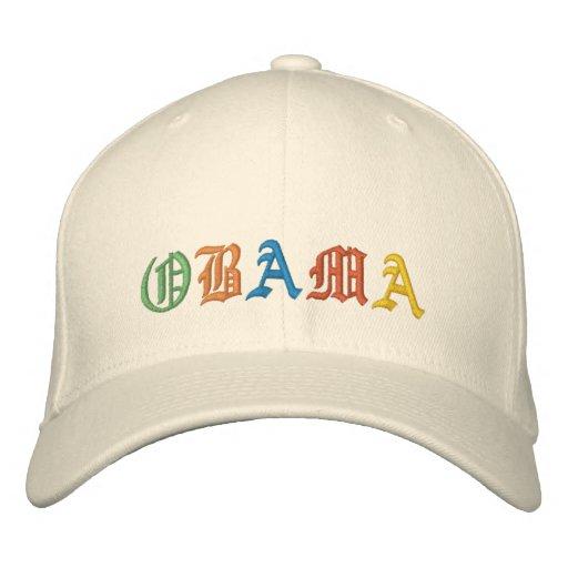 Obama Embroidered Baseball Caps
