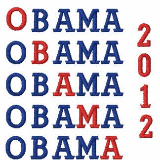 Obama Embroidered Polo Shirt