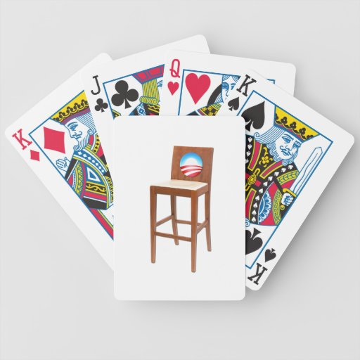 Obama Empty Chair Bicycle Card Deck