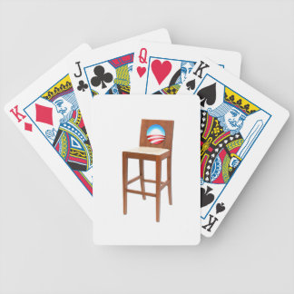Obama Empty Chair Bicycle Playing Cards