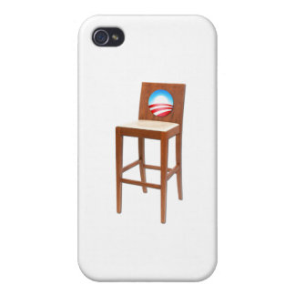 Obama Empty Chair iPhone 4/4S Cases