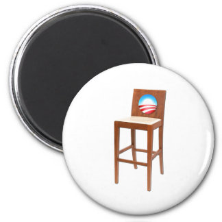 Obama Empty Chair Fridge Magnet