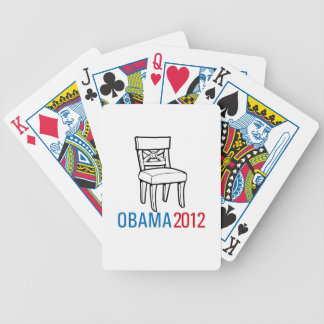 OBAMA EMPTY CHAIR.png Bicycle Poker Deck