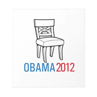OBAMA EMPTY CHAIR png Memo Note Pads